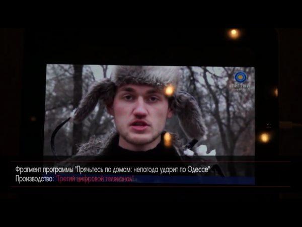 До чего доводит нищета одесских журналистов