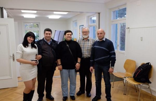 Отчет по встрече в Szondi-Institut: Фридъюнг Юттнер, Олег Мальцев, Михаил Вигдорчик